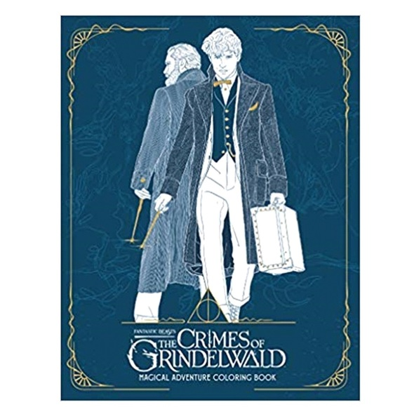 Warner Bros. Other - The Crimes of Grindelwald Colouring Book